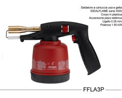 Saldatore a Gas Blowtorch Ideal-Flame Piezo