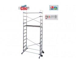Trabattello Alluminio Facal Click 2 Alzate H 3,65 mt