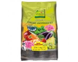Concime Granulare Universale Blu per Orto e Giardino Verde Vivo kg 4